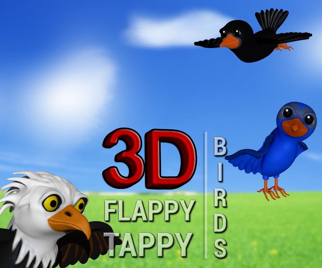 3D Flappy Tappy Birds