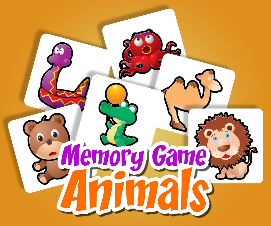 Memory Game Animals