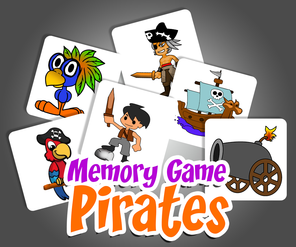 Memory Game Pirates